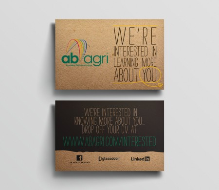 AB Agri Early Careers cards