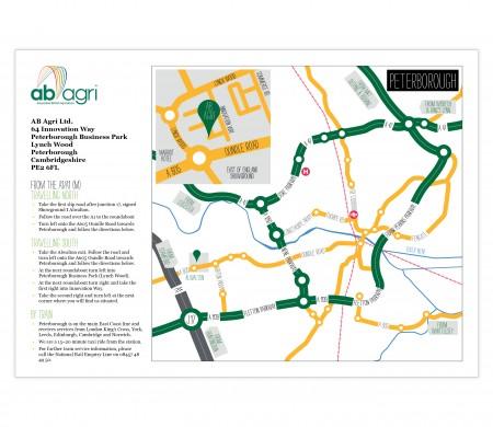 AB Agri map