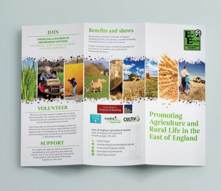 East of England Agricultural Society Rebrand