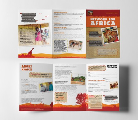 Network for Africa Trifold
