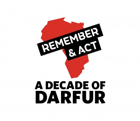 A Decade of Darfur logo
