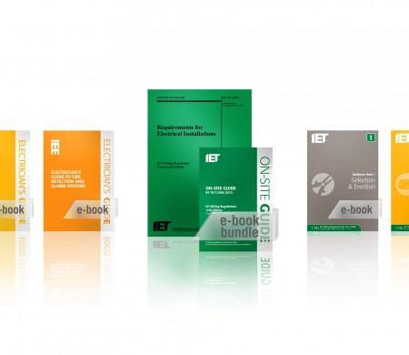 IET Wiring Regulations Digital hero image and adverts