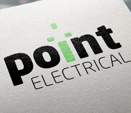 Point electrical and plumbing logos