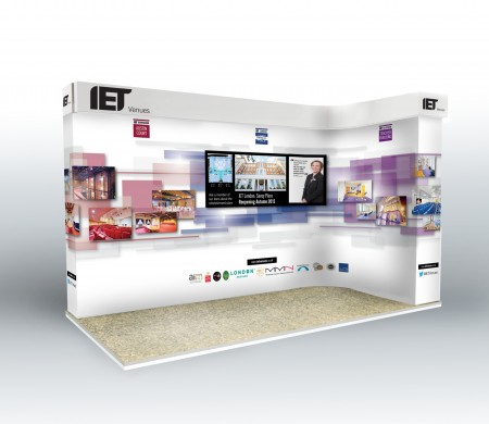 IET exhibition stands