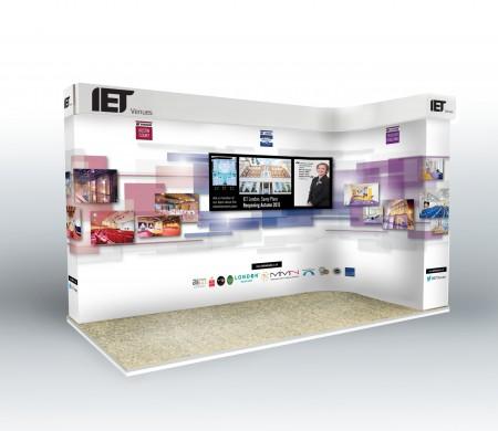 IET exhibition stands